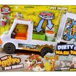 19408 Ugglys Pet Shop Dirty Dog Wash Van