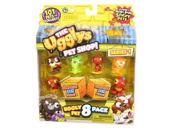 19409 Ugglys Pet Shop 8 Pack